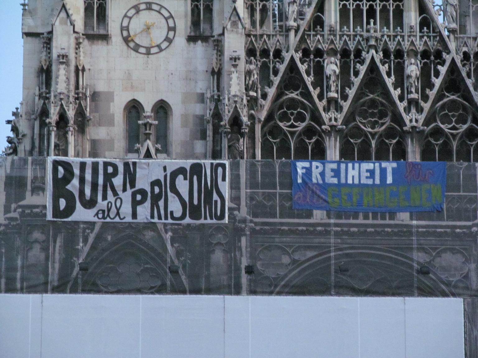 Solidarity action in Vienna