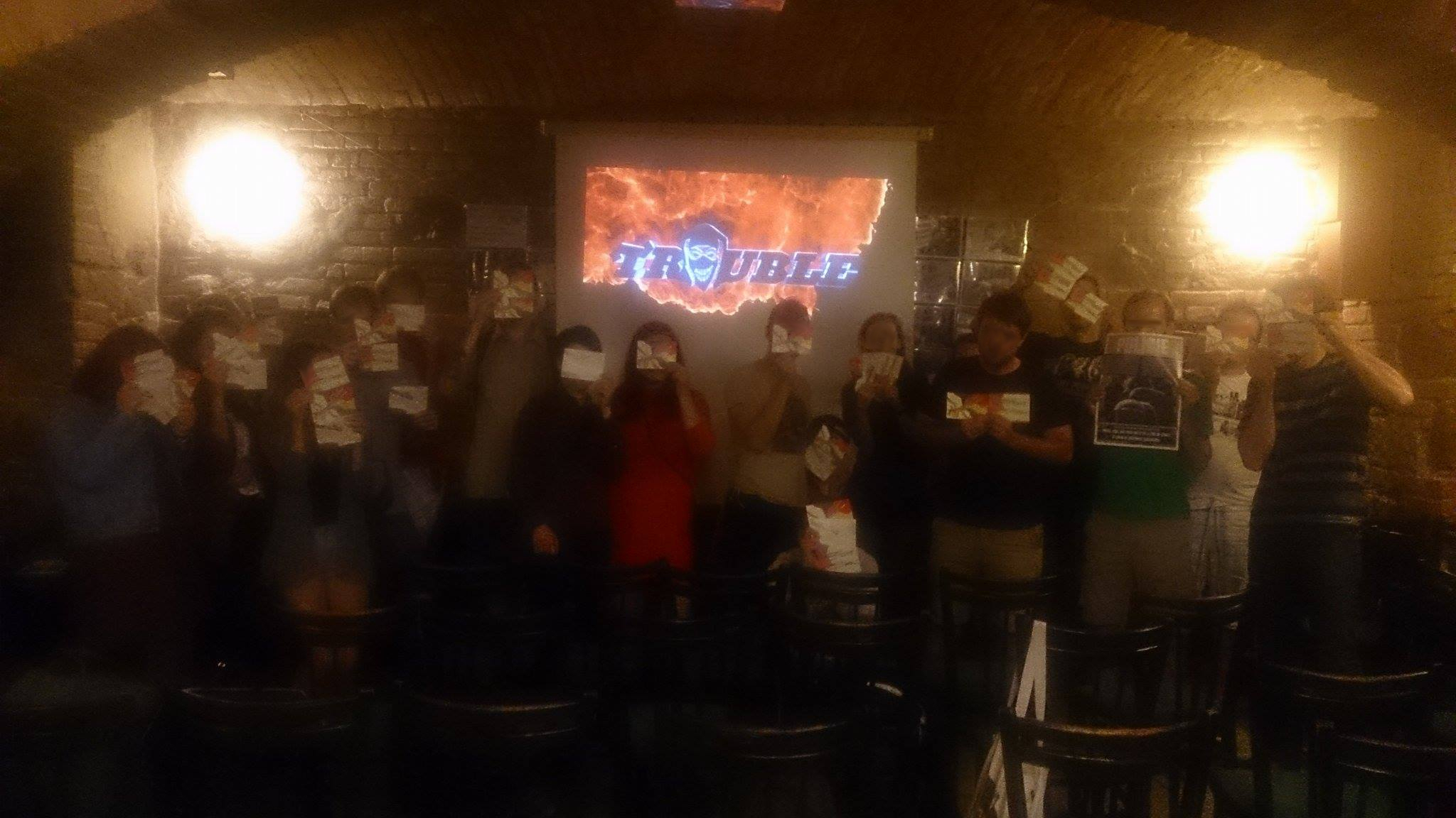 Solidarity event in Brno, Czech