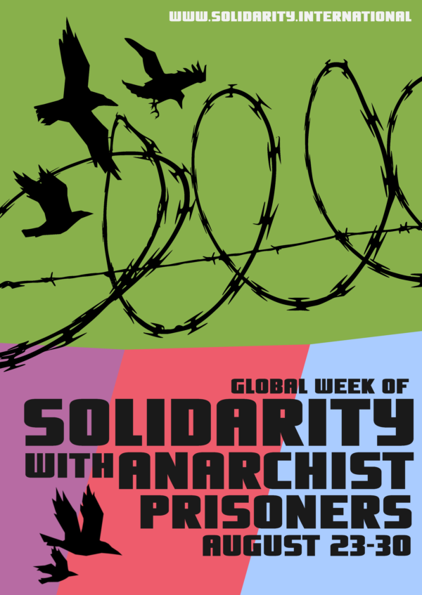Image result for Week Of Solidarity With Anarchist Prisoners 23rd-30th August